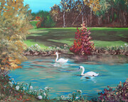 AUTUMN PEACE 20x16