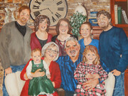 Family Tiessen March 2018 24x18