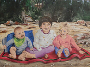 Grandchildren 16x12