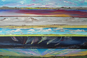 Prairie Skies - Every Day is a Dance 36x24