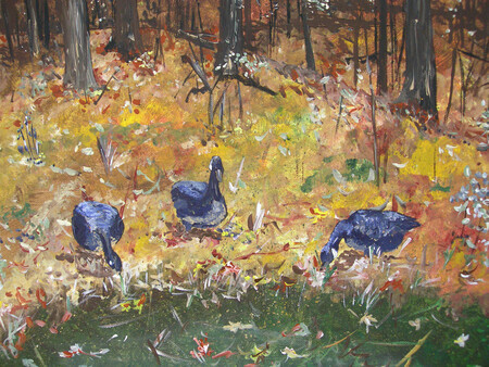 Rick's Geese 12x9