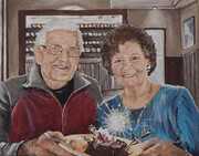 Sixty-Three Years Together 14x11