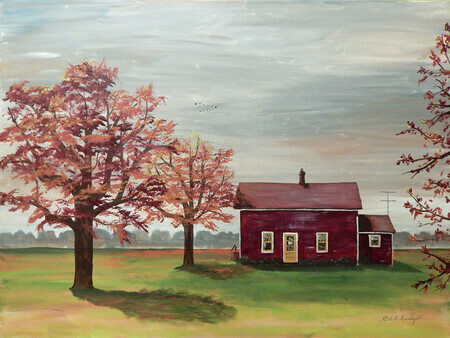 The Old House 40x30