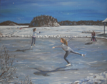 Winter Delight 28x22